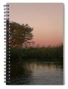 Sunset In Teh Pantenal Spiral Notebook
