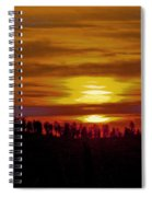 Sunset In The Black Hills 2 Spiral Notebook