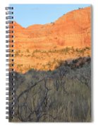 Sunset In The Desert Canyon 2 Spiral Notebook