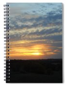 Sunset In The Distance Spiral Notebook