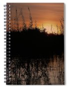Sunset In The Pantenal Spiral Notebook