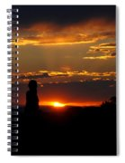 Sunset In Utah Spiral Notebook