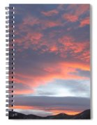 Sunset In Vail Colorado Spiral Notebook