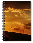 Sunset In Vernon County Spiral Notebook