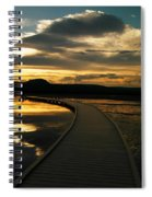 Sunset In Yellow Stone Spiral Notebook