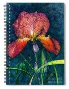 Sunset Iris Spiral Notebook