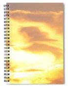 Sunset Jesus Spiral Notebook