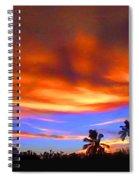 Sunset Key Largo Filtered Spiral Notebook