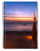 Sunset Lanta Island  Spiral Notebook