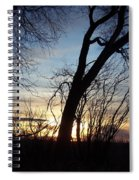 Idaho Sunset 1 Spiral Notebook