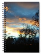 Sunset - Late Fall Spiral Notebook