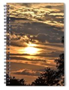 Sunset Layers Spiral Notebook