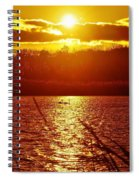 Sunset Love At Crosswinds Spiral Notebook