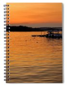 Sunset Marina Spiral Notebook