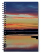 Sunset Marsh Spiral Notebook
