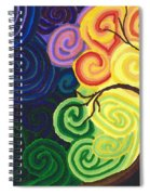 Sunset Moonrise Spiral Notebook