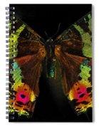 Sunset Moth Spiral Notebook