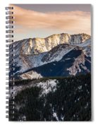 Sunset Mountains Spiral Notebook