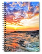 Sunset Near Old Kona Airport Spiral Notebook