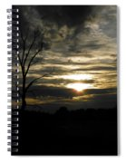 Sunset Of Life Spiral Notebook