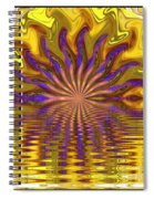 Sunset Of Sorts Spiral Notebook