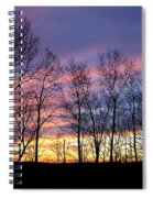 Sunset Of The Century Spiral Notebook
