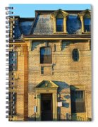 Sunset On An Old Toronto Home Spiral Notebook