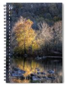 Sunset On Billy Goat Trail Spiral Notebook