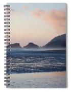 Sunset On Cannon Beach Spiral Notebook