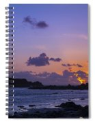 Sunset On Guernsey Spiral Notebook