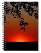 Sunset On Jekyll Island Spiral Notebook