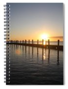 Sunset On Key Largo Spiral Notebook