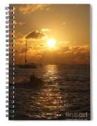 Sunset Over Key West Spiral Notebook