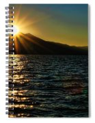 Sunset On Lake Tahoe By Diana Sainz Spiral Notebook