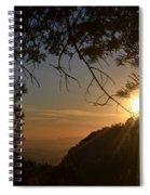 Sunset On San Jacinto Spiral Notebook
