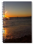 Sunset On Sunset Beach Spiral Notebook
