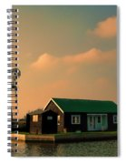 Sunset On The Broads Spiral Notebook