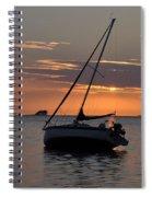 Sunset On The Gulf Spiral Notebook