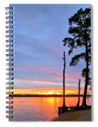 Sunset On The James River Spiral Notebook