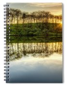 Sunset On The Lake Spiral Notebook