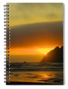 Sunset On The Oregon Coast Spiral Notebook