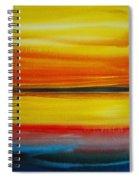 Sunset On The Puget Sound Spiral Notebook