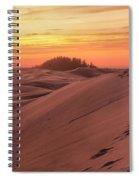 Sunset On The Ridge Spiral Notebook