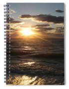 Sunset On Venice Beach  Spiral Notebook