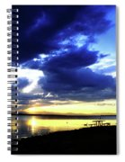 Sunset Over Aurora II Spiral Notebook