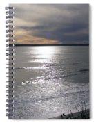 Sunset Over Calypso Beach Spiral Notebook