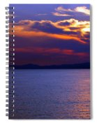 Sunset Over Korcula Spiral Notebook