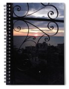 Sunset Over Puerto Vallarta Spiral Notebook