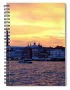 Sunset Over Venice Spiral Notebook