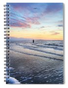 Sunset Paradise Jekyll Island  Spiral Notebook